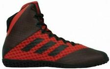 Adidas Botas Wrestling Mat asistente Zapatos Rojo 4-BC0532