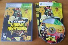 Red Dead Redemption: Undead Nightmare (Microsoft Xbox 360, 2010) zombie COMPLETE