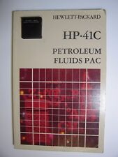 VINTAGE HP-41C PETROLEUM PAC Module for HP 41C/CV/CX Calculators With Manual