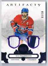 2017-18 ARTIFACTS MATERIALS PURPLE MAX PACIORETTY DUAL JERSEY & PATCH 03/10