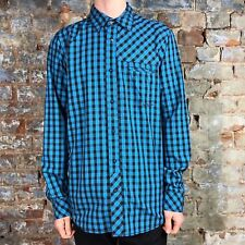 O'neill Casual Check Long Sleeve Shirt New - Blue - Size: S,M,L