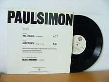 """PAUL SIMON """"Allergies"""" rare PROMO 12"""" EP from 1983 (WB PRO-A-2100). Promotional"""