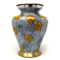 Cremation Urns Ashes , Large Brass Adult Funeral Human Ashes Urn