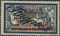 Memelgebiet 83 postfrisch 1922 Flugpost