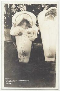 1920 Blackfoot, Idaho - REAL PHOTO Indian Reservation - Vintage Postcard