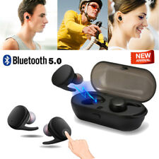 Bluetooth 5.0 Mini Sport Earbuds True Wireless Bass Twins Stereo In-Ear Earphone