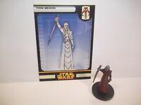 Star Wars Miniatures - Tion Medon 51/60 + Card - Very Rare - ROTS