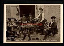 More details for cyprus greece boot makers at work mantovani tourist agency postcard e20c - gr129