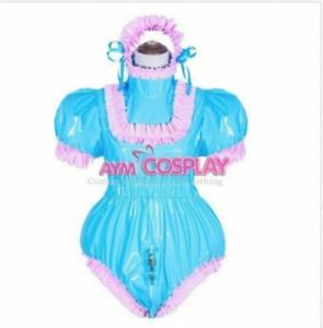 sissy baby PVC Romper vinyl Unisex tailor-made