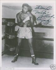 SUGAR RAY ROBINSON Signed Photograph - World BOXING Champion - preprint