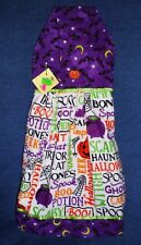 **NEW** Handmade Halloween Pumpkins & Potions Hanging Kitchen Hand Towel #1815