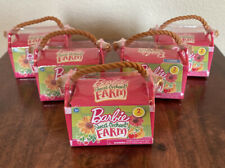 New ListingBarbie Sweet Orchard Farm Blind Bag Lot of 5 Pet Carriers Series 1 New/Free Ship