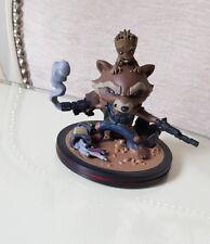 Guardians Of the Galaxy Vol 2 Rocket Raccoon & Groot Q fig Figure