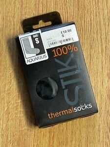 Aquarius 100% Silk Thermal Socks. RRP £10 NOW £4