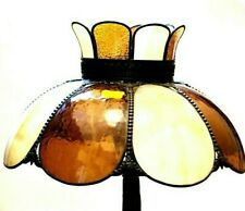 Vintage Stained Glass Canopy Lamp Shade Unique Home Decor