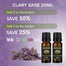 Clary Sage Essential Oil 20ml Natural Aromatherapy Essential Oils Diffuser