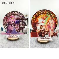 2*Anime Mo Dao Zu Shi Lan WangJi Wei WuXian Acrylic Stand Figure Model Toy