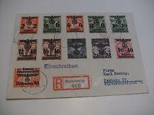 Satzbrief GG vom 20.04.1940 mit ex Mnr 14-39 Starachowice nach Hamburg gepr. BPP