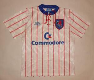 AWAY SHIRT UMBRO CHELSEA LONDON 1992-94 (M) Commodore Jersey Trikot Maillot