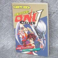 ONI V 5 Oni wo Tsugu Mono Guide Game Boy Book KB36*