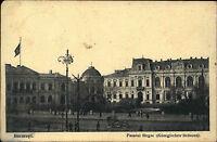 Feldpostkarte aus Bukarest Bucaresti 1917 Feldpost Blindstempel im 1. Weltkrieg
