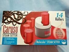 CARUSO Molecular Steam Setter Pageant HOT ROLLERS Curlers Dual Voltage C97956