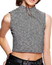 Maglie e camicie da donna grigia Casual Taglia 40