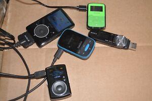 SANDISK SANSA FUZE & SANDISK CLIP SPORT SANDISK CLIP SONY NWZ B153 MP3 PLAYERS