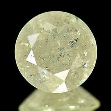 2.32ct Certified Large LIGHT YELLOW DIAMOND 8.3 x 8.3mm SI Clarity Untreated