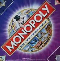 Monopoly Here & Now World Edition 2008 - SPARE REPLACEMENT PARTS