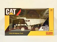 1/50 Scale Caterpillar 775G Off-Highway Truck, White Edition