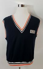 New listing Men's Vtg 1980's Oklahoma State Cowboys Football Sweatshirt Vest Sz Lg Black Usa