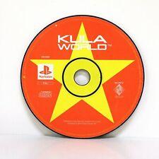 Kula World | Sony ps1 PSone Playstation Spiel-Sammlerstück Zustand Disc nur!!!