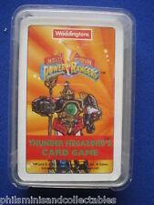 Waddington's Power Rangers Thunder Megazord's Card Game  1994