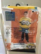 Halloween Child Costume Minion Dave Medium Size 8-10
