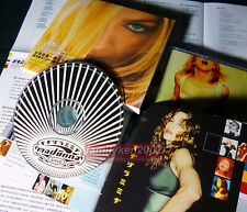 Taiwan RARE Promo CD w/Slipcase! Madonna 2001 GHV2 best of hits rebel heart