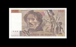 "1990 BANQUE DE FRANCE 100 FRANCS ""N"" (( aUNC/UNC ))"