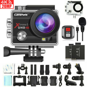 Campark ACT74 Action Cam UHD 4K Waterproof Sport Camera WiFi Camcorder as Go Pro