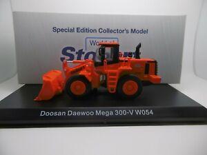 Stobart Rail DOOSAN DAEWOO MEGA 300V WO54 DIGGER MODEL 1:76 SALE