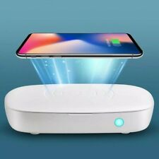 Uv Light Ultraviolet Uvc Cell Phone Clean Box Case Cleaner Fast Wireless Charger