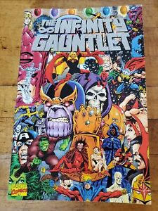 Marvel Comics The Infinity Gauntlet TPB 1st Printing 1992 Nice