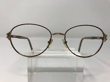Elizabeth Arden Eyeglasses 53-18-140 Tortoise Metal Frame Full Rim A871