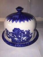 Antique Staffordshire Ironstone Large Dome Cheese Dish