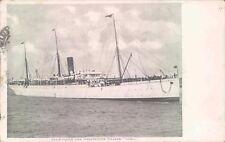 Postcard Shipping Union Castle Line steamer Gaika 1912