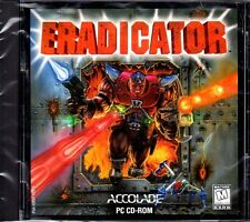 ERADICATOR (PC-CD, 1996) for DOS/Windows 95 - NEW Sealed Jewel Case