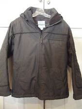 Burton Snow Ski Board Jacket Active Lining System Dark Gray Women Sz Small EUC