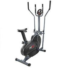 Fitfiu Fitness ORB2600S, Cyclette Ellittica con Ergometro, Display LCD, (O4h)