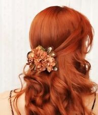 Synthetic Curly Wavy Lace Front Wig for Women Orange Red Wig Cosplay Natural Wig