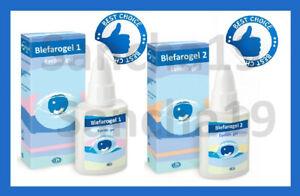 Blefarogel 1 and 2 (Блефарогель) - eyelids gel -Hyaluronic Acid, Aloe Vera 15g