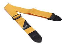 Correa amarilla guitarra eléctrica o bajo - Yellow Strap for electric guitar